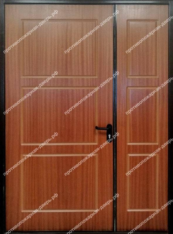 полуторная глухая дверь мдф Ei 60 17